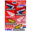 Planche stickers Honda Vintage